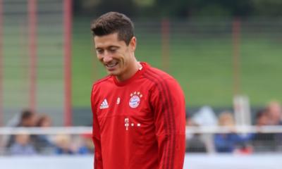Bundesliga Profi Robert Lewandowski vom FC Bayern